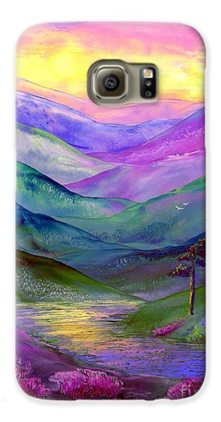 Highland Light Galaxy S6 Case by Jane Small