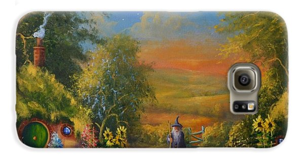 Hobbiton, Disturbing The Peace  Galaxy S6 Case by Joe  Gilronan