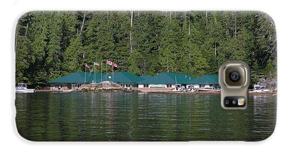 Hoiss Point Lodge #2 Samsung Galaxy Case by Nootka Sound