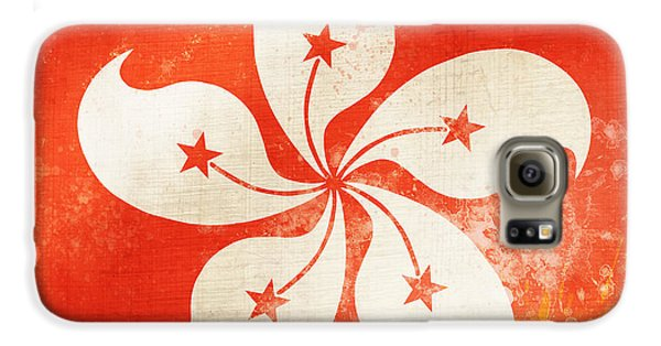 Hong Kong China Flag Galaxy S6 Case by Setsiri Silapasuwanchai