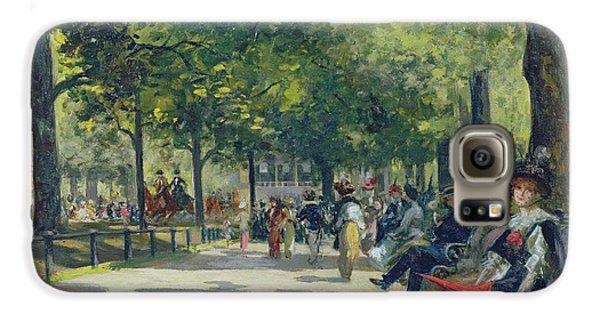 Hyde Park - London  Galaxy S6 Case by Count Girolamo Pieri Nerli