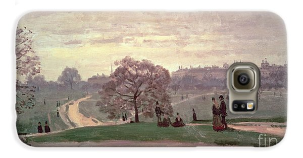 Hyde Park Galaxy S6 Case by Claude Monet