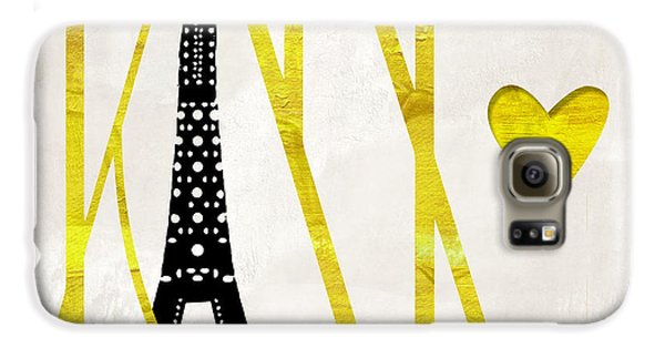 I Love Paris Galaxy S6 Case by Mindy Sommers