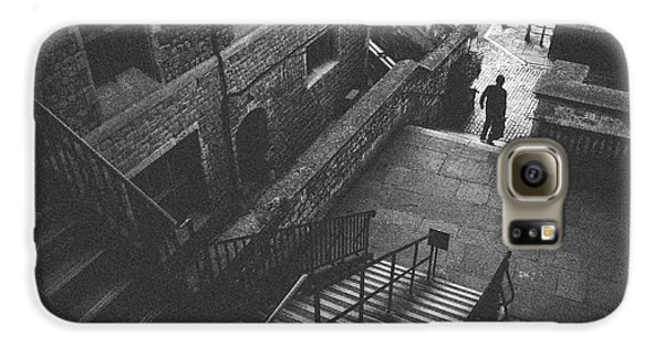 In Pursuit Of The Devil On The Stairs Galaxy S6 Case by Joseph Westrupp