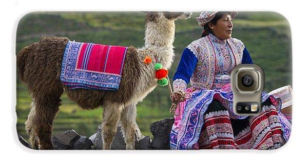 Indigena Galaxy S6 Case by Christian Heeb