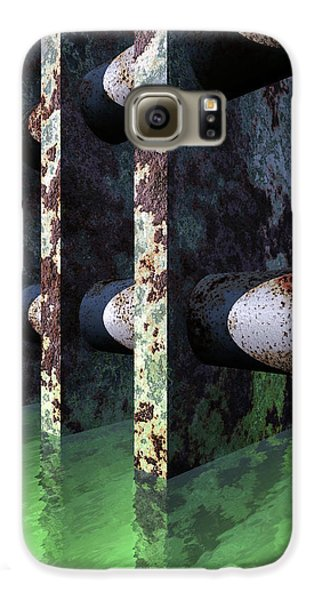 Industrial Disease Samsung Galaxy Case by Richard Rizzo