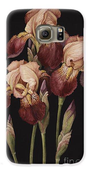 Irises Galaxy S6 Case by Jenny Barron