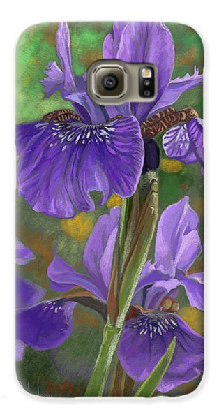 Irises Galaxy S6 Case by Lucie Bilodeau