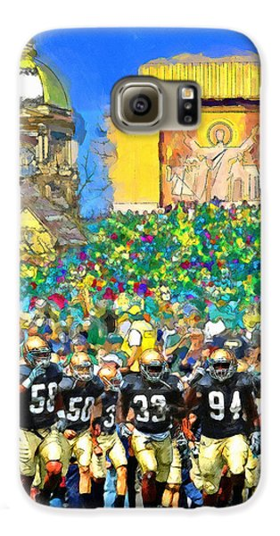 Irish Run To Victory Galaxy S6 Case by John Farr