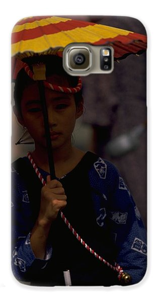 Galaxy S6 Case featuring the photograph Japanese Girl by Travel Pics