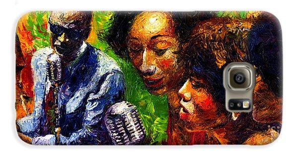 Jazz  Ray Song Galaxy S6 Case by Yuriy  Shevchuk