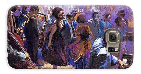 Jazz Galaxy S6 Case by Yuriy  Shevchuk