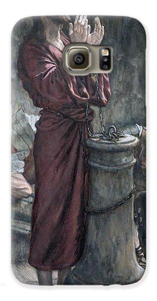 Jesus In Prison Galaxy S6 Case by Tissot