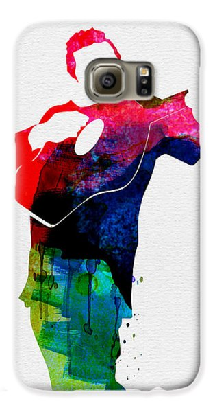 Johnny Watercolor Galaxy S6 Case by Naxart Studio