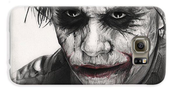 Joker Face Galaxy S6 Case by James Holko
