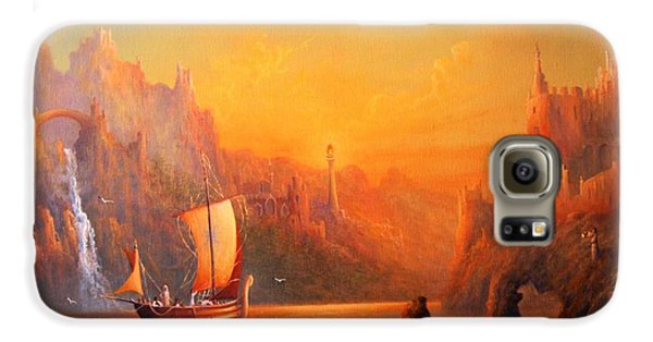Journey To The Undying Lands Galaxy S6 Case by Joe  Gilronan