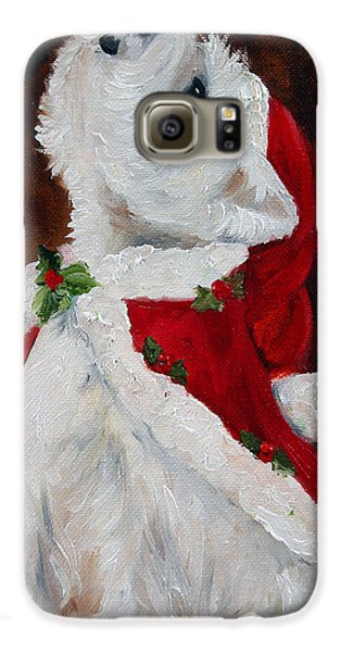 Joy To The World Galaxy S6 Case by Mary Sparrow