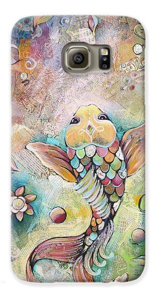 Joyful Koi II Galaxy S6 Case by Shadia Derbyshire