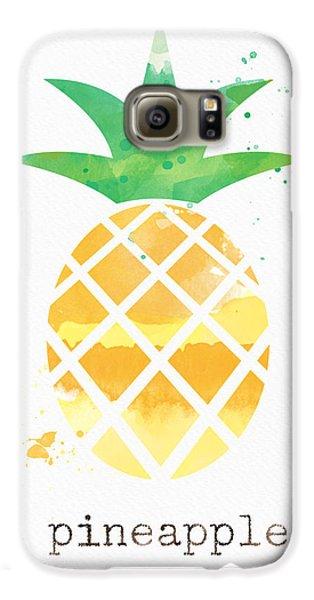 Juicy Pineapple Galaxy S6 Case by Linda Woods