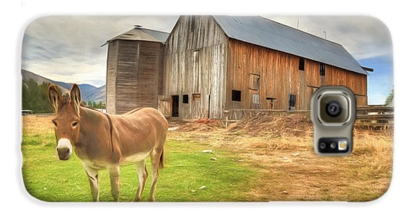 Just Another Day On The Farm Galaxy S6 Case by Donna Kennedy