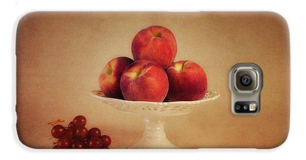 Just Peachy Galaxy S6 Case by Tom Mc Nemar