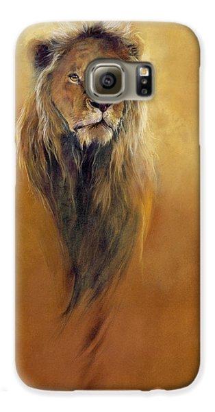 King Leo Galaxy S6 Case by Odile Kidd