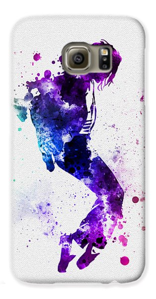 King Of Pop Galaxy S6 Case by Rebecca Jenkins