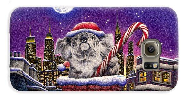 Koala In Chimney Galaxy S6 Case by Remrov