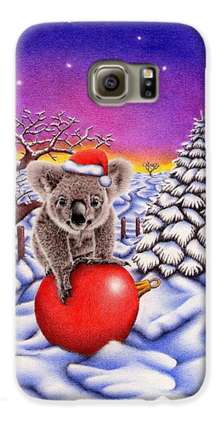 Koala On Ball Galaxy S6 Case by Remrov
