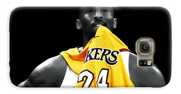 Kobe Bryant 04c Galaxy S6 Case by Brian Reaves