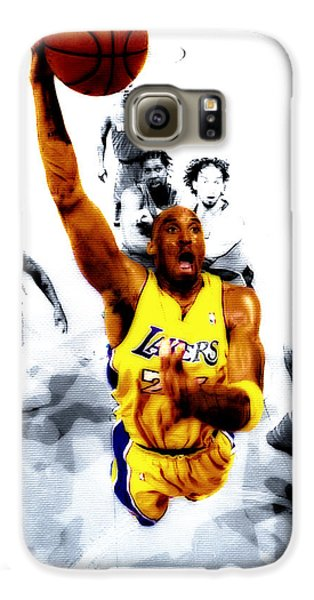 Kobe Bryant Took Flight Galaxy S6 Case by Brian Reaves