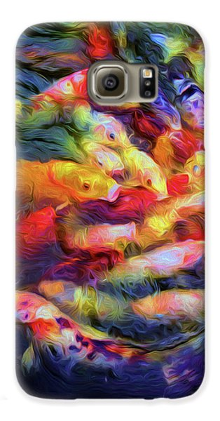 Koi Pond Galaxy S6 Case by Jon Woodhams