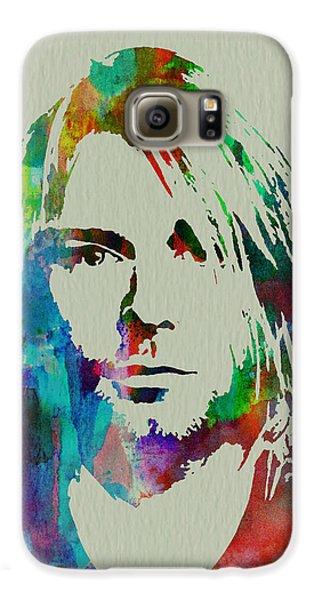 Kurt Cobain Nirvana Galaxy S6 Case by Naxart Studio
