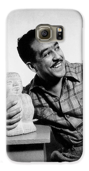 Langston Hughes (1902-1967) Galaxy S6 Case by Granger