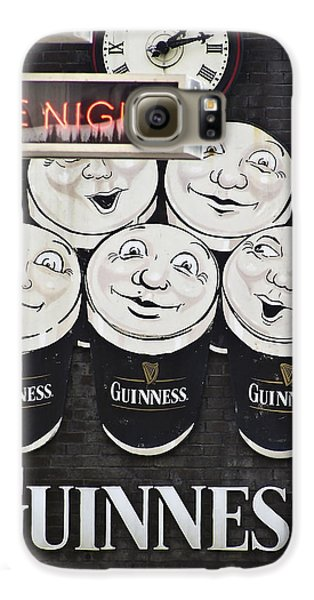 Late Night Guinness Limerick Ireland Galaxy S6 Case by Teresa Mucha