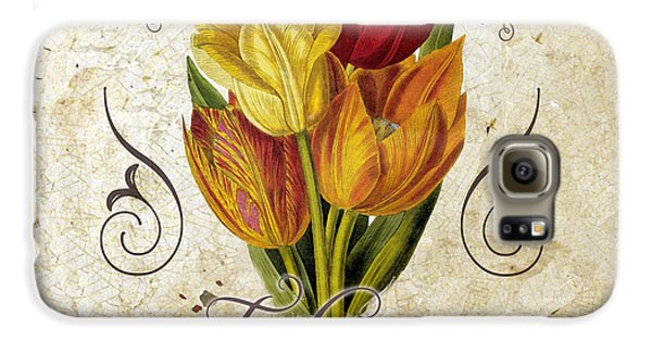 Le Jardin Tulipes Galaxy S6 Case by Mindy Sommers