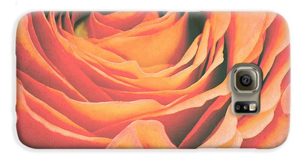 Le Petale De Rose Galaxy S6 Case by Angela Doelling AD DESIGN Photo and PhotoArt