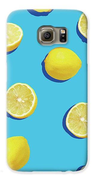 Lemon Pattern Galaxy S6 Case by Rafael Farias