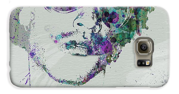 Lenny Kravitz Galaxy S6 Case by Naxart Studio