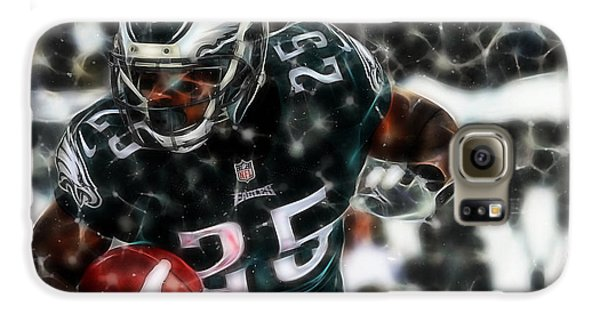 Lesean Mccoy Collection Galaxy S6 Case by Marvin Blaine