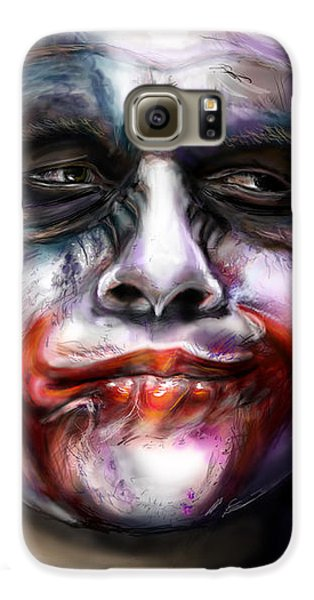 Let's Put A Smile On That Face Galaxy S6 Case by Vinny John Usuriello