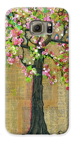 Lexicon Tree Of Life 4 Galaxy S6 Case by Blenda Studio