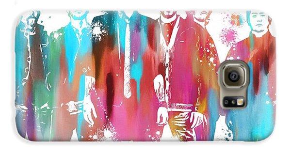 Linkin Park Watercolor Paint Splatter Galaxy S6 Case by Dan Sproul