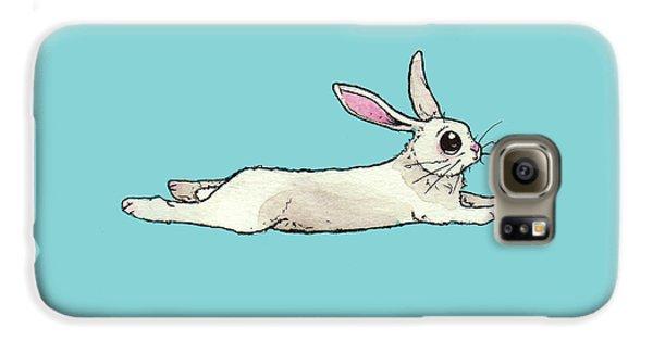 Little Bunny Rabbit Galaxy S6 Case by Katrina Davis