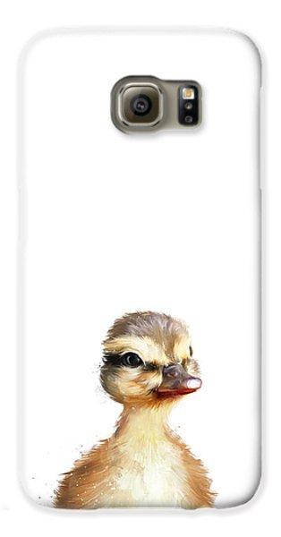 Little Duck Galaxy S6 Case by Amy Hamilton