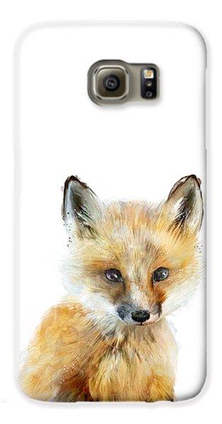 Little Fox Galaxy S6 Case by Amy Hamilton