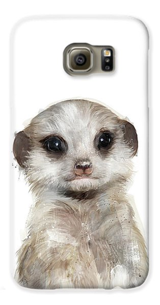 Little Meerkat Galaxy S6 Case by Amy Hamilton