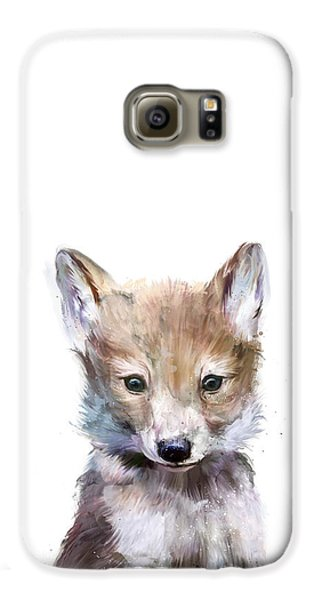 Little Wolf Galaxy S6 Case by Amy Hamilton