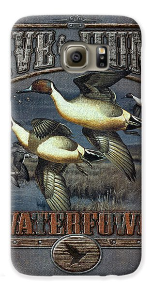 Live To Hunt Pintails Galaxy S6 Case by JQ Licensing