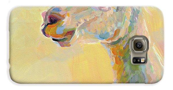 Lolly Llama Galaxy S6 Case by Kimberly Santini
